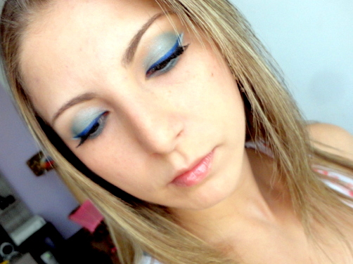 Delineado Azul