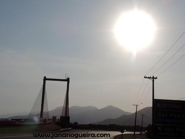 Domingo na Praia de Santos