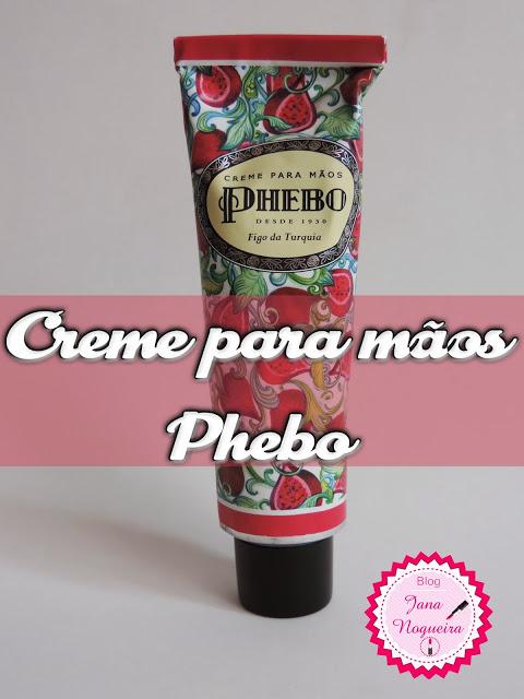 Creme para mãos- Phebo