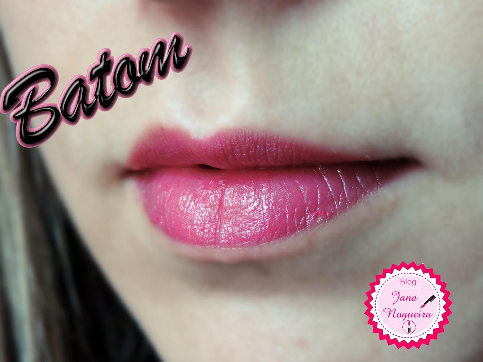 batom pink fenzza makeup