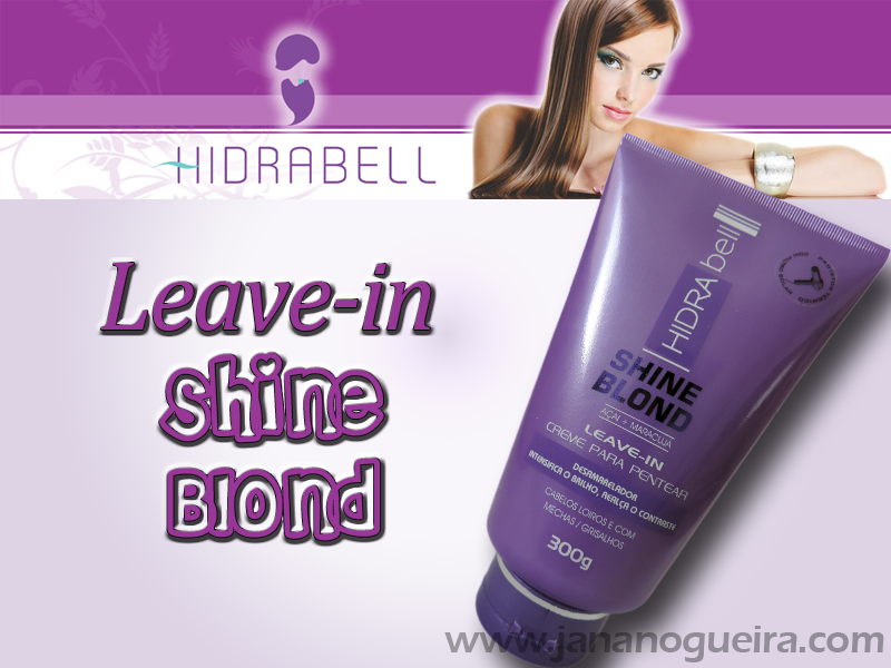 Leave-in Shine Blond - HIDRABELL