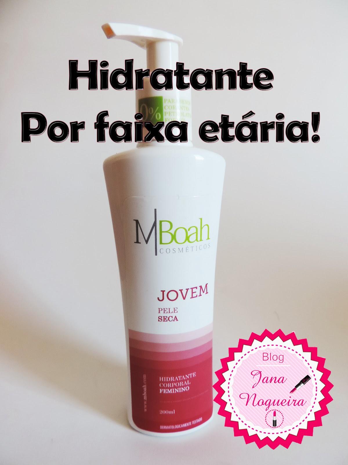 Hidratante Ideal para sua idade - MBOAH