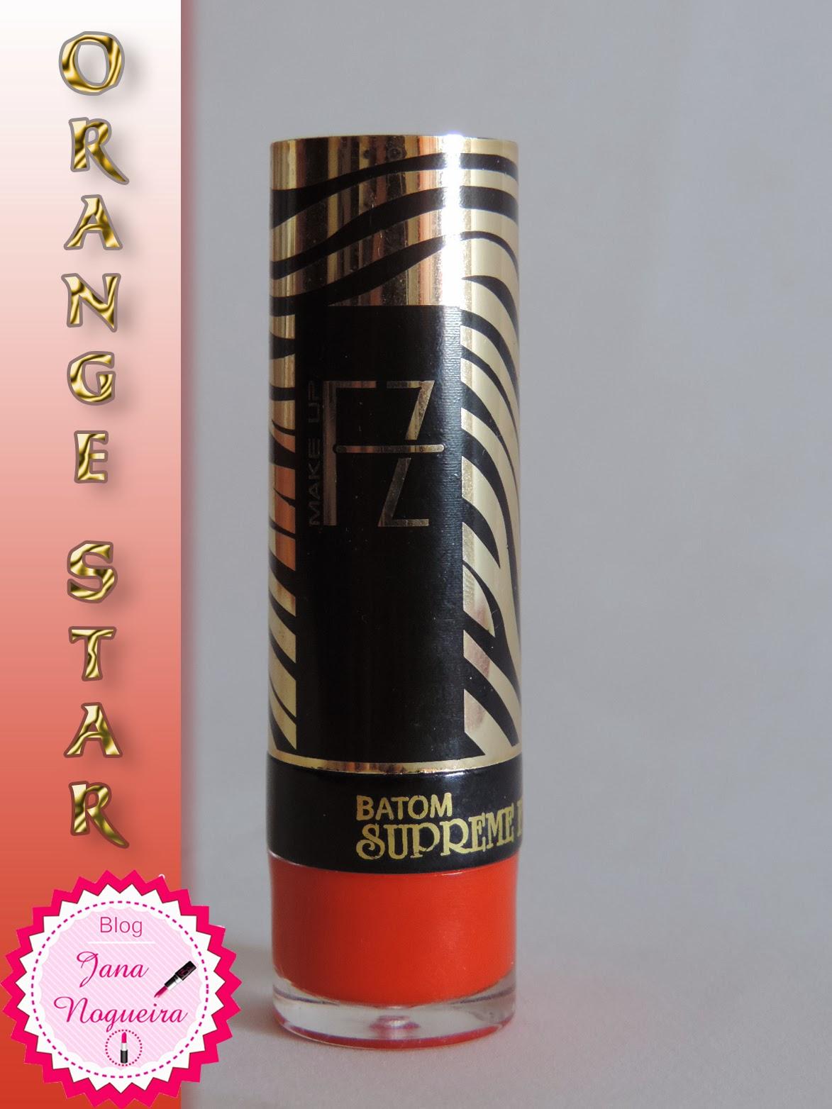 Batom laranja - Fenzza