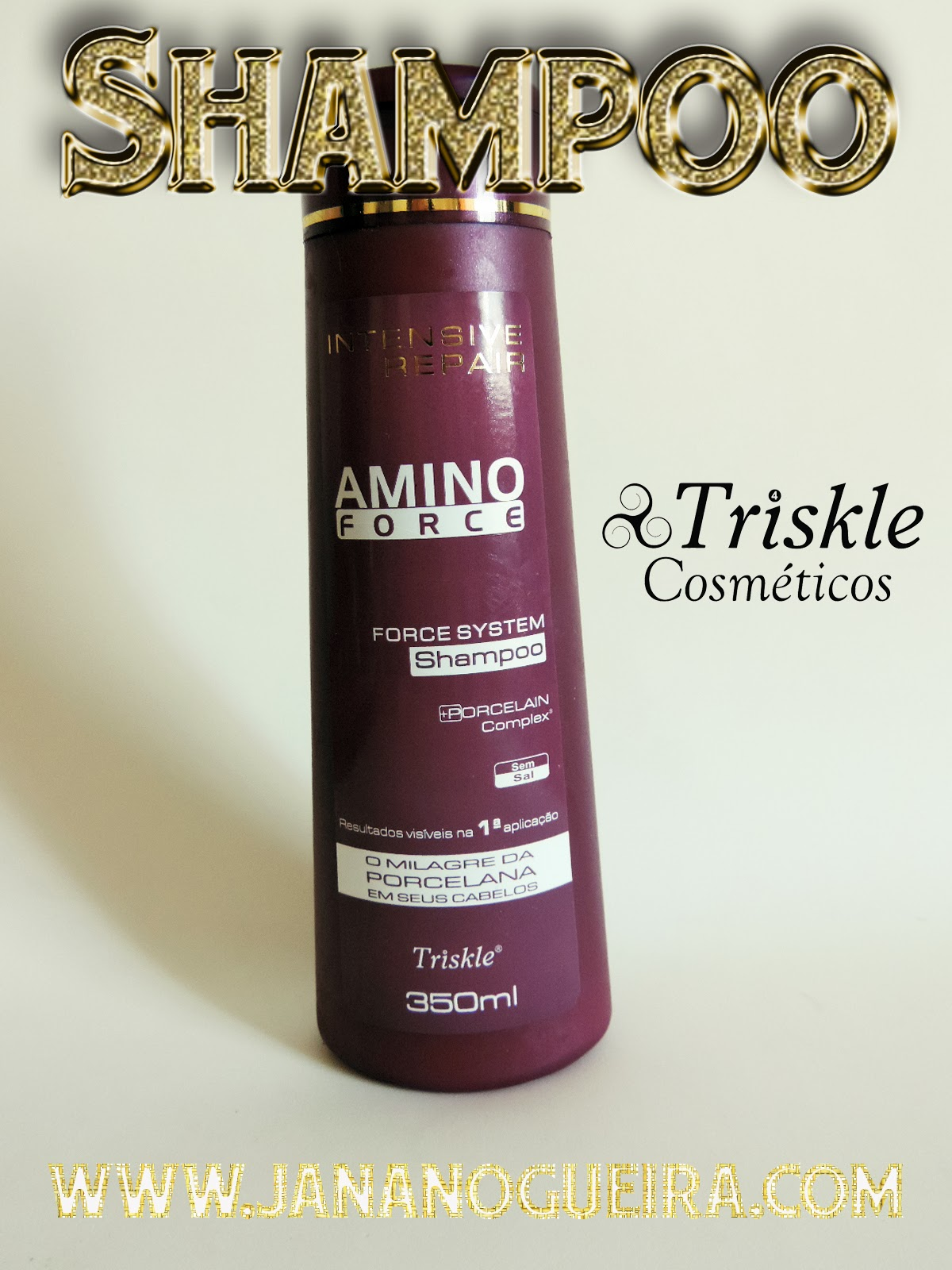 Cabelos fortes e brilhosos - Amino Force - Triskle