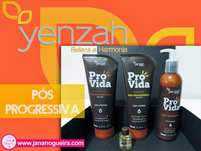 Linha Pós Progressiva - Yenzah