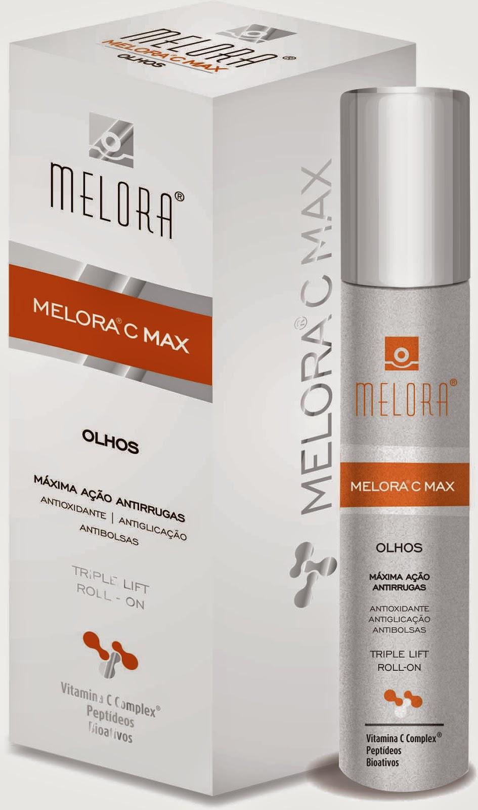 Linha de dermocosméticos Antioxidantes - Melora