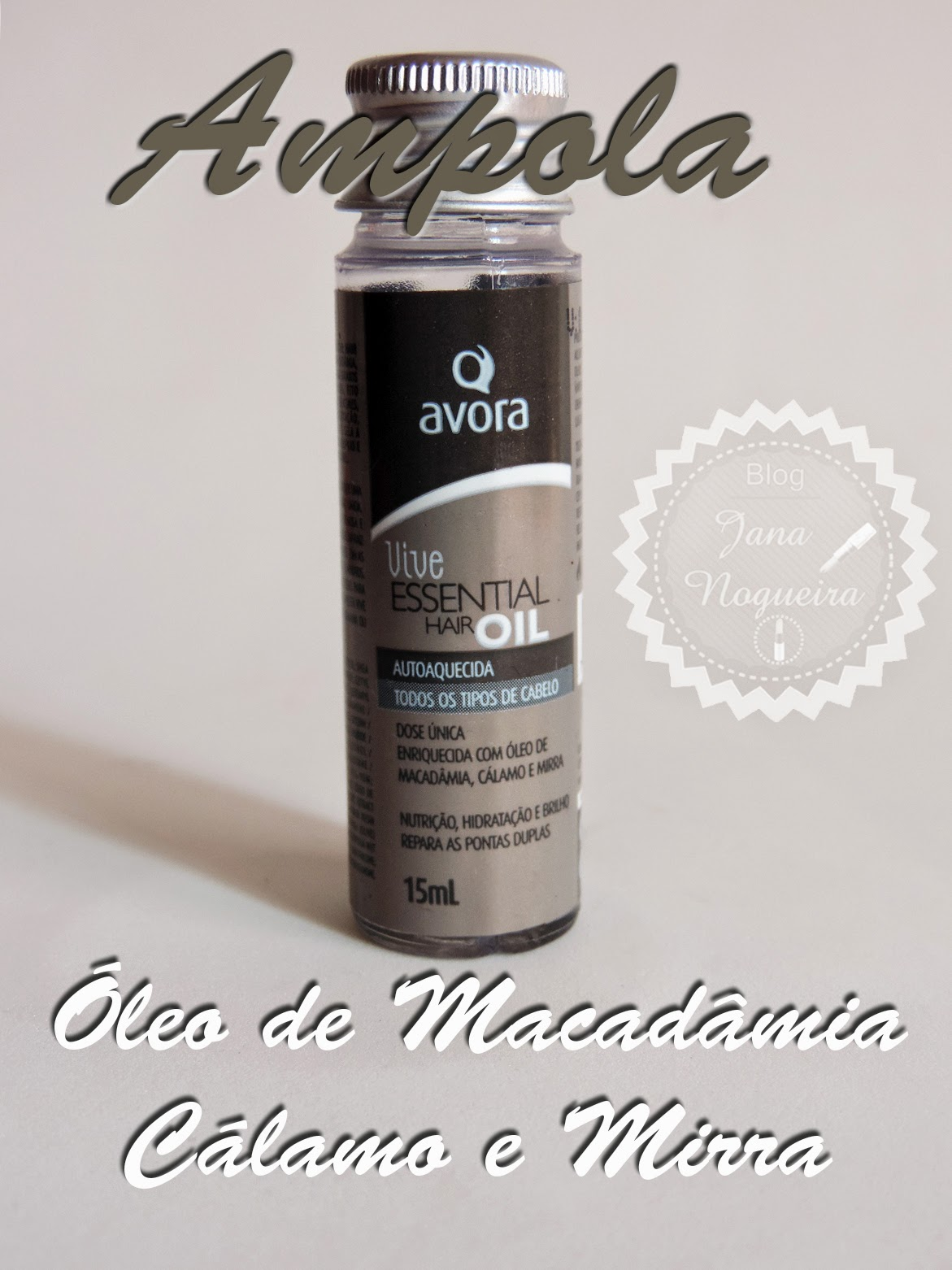 ampola essential hair oil