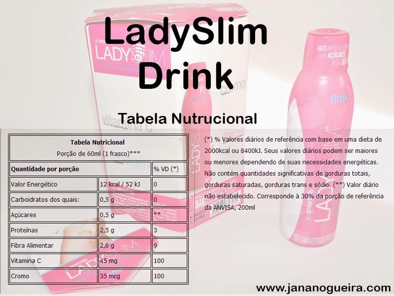 Testei: Colágeno LadySlim Drink