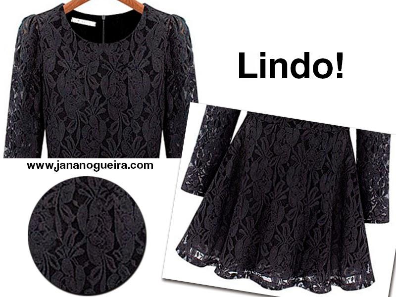 vestido preto comprar