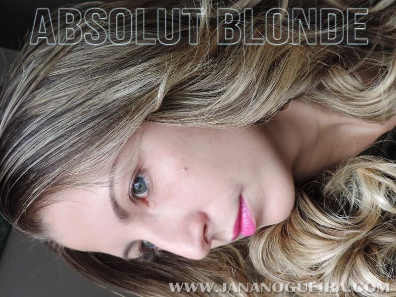 Testei: Linha Phytogen Absolut Blonde