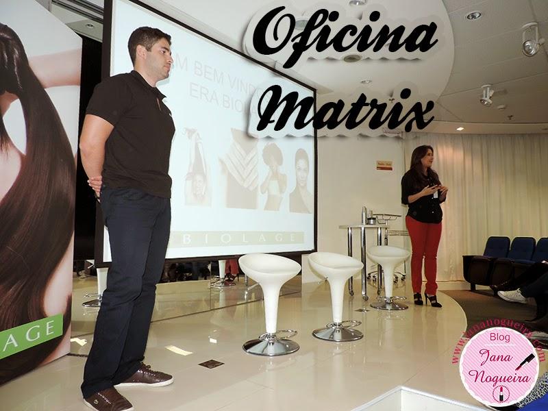 Evento - Oficina Matrix e Fortalecimento Capilar