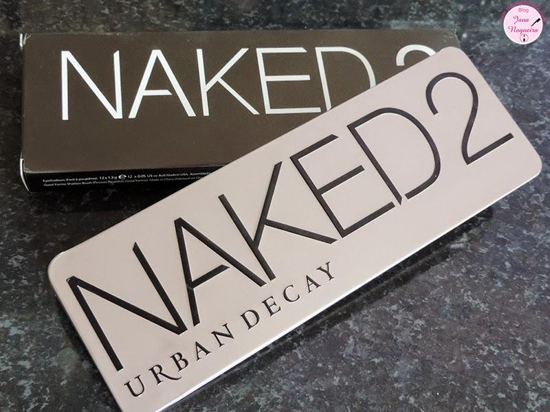 Comprinha no Aliexpress: Naked 2 + Review