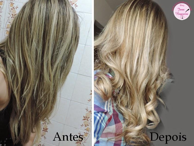 Banho de Verniz para os cabelos