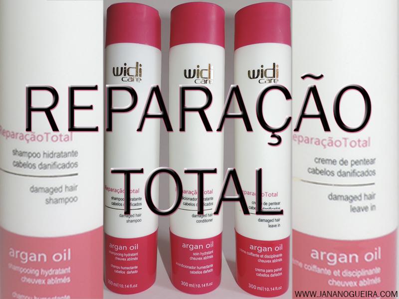 Reparação total para cabelos danificados!