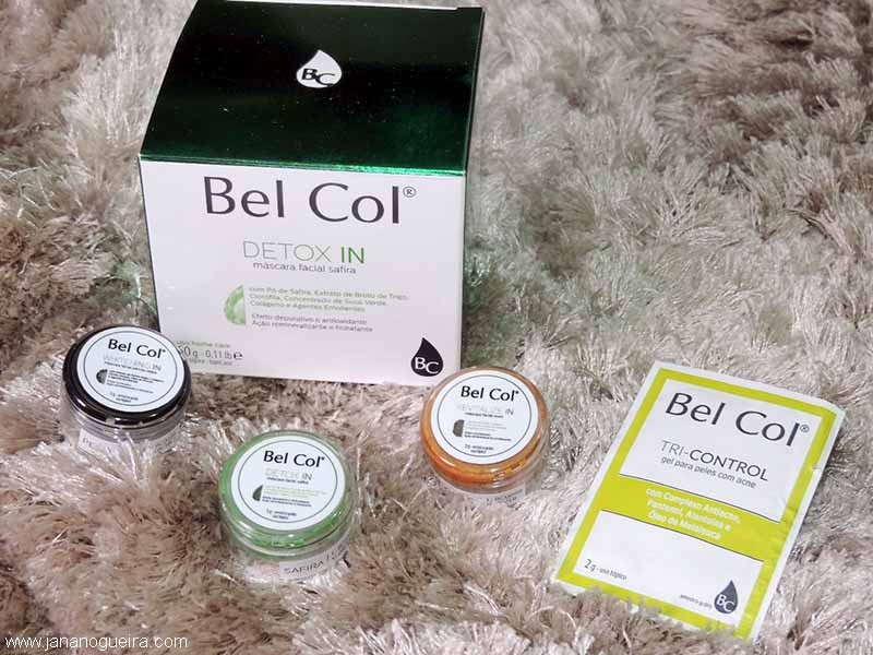 belcol mascaras detox withening ouro