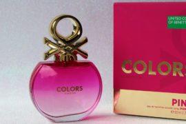 Perfume Colors Pink Benetton – Floral e sedutor!