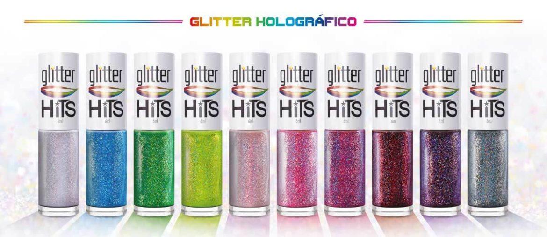 Coleção Glitter Holográfico Hits Speciallità