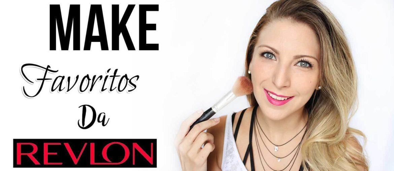 Maquiagem fácil só com meus favoritos da Revlon