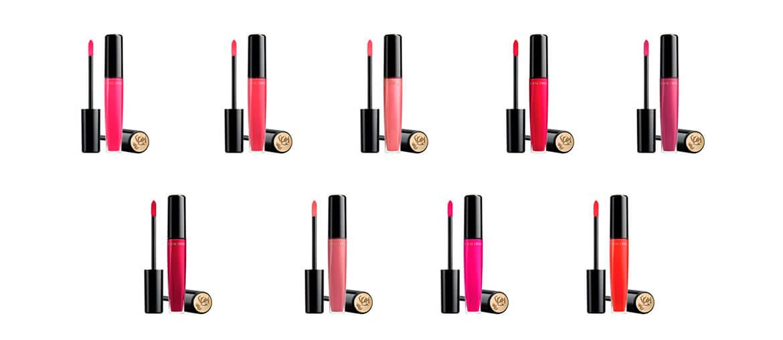 Lancôme lança nove tons de L'Absolu Rouge Gloss
