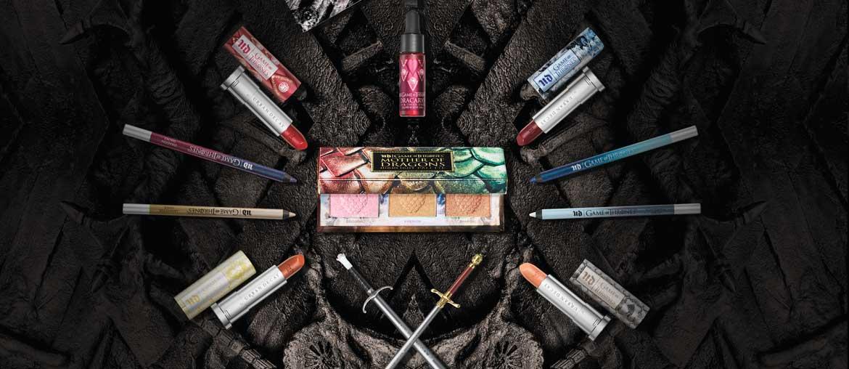 Urban Decay lança coleção de maquiagem inspirada em  Game of Thrones