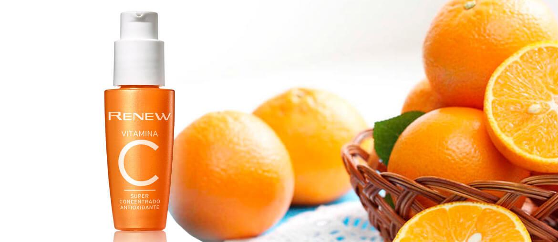 Avon lança super concentrado Antioxidante com o poder da vitamina C de 30 laranjas